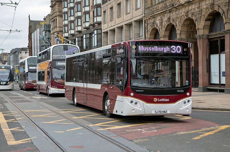 87 SJ70HNZ, Edinburgh 5/3/2021