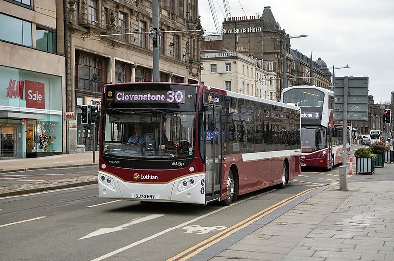 83 SJ70HNV, Edinburgh 5/3/2021