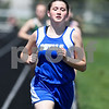 Madison Mckee of Hinkley Big Rock runs the 800 meter run May 5th at the Genoa-Kingston invite.