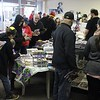 Dozens of people received complimentary comic books at Comic Heaven in Willoughby on May 6 for Free Comic Book Day. (Tawana Roberts/The News-Herald).