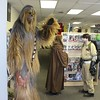 Members of Ohio's 501st group dressed in costumes at Comic Heaven in Willoughby on May 6 for Free Comic Book Day. (Tawana Roberts/The News-Herald)