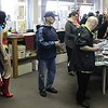 Dozens of people received complimentary comic books at Comic Heaven in Willoughby on May 6 for Free Comic Book Day. (Tawana Roberts/The News-Herald)