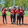 Paul DiCicco - The News-Herald<br /> The Mentor infield conducts their pre-inning ritual.
