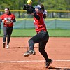 Paul DiCicco - The News-Herald<br /> - Mentor's Meri Bobrovsky delivering a pitch to Euclid on May 8.  Mentor went on to win the game, 16-4.