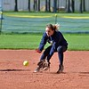 Paul DiCicco - The News-Herald<br />  Euclid's shortstop, Katelyn Kato, cleanly fields the ball in the third inning against Mentor on May 8.