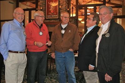 Feb 8, 2012 Interclub meeting