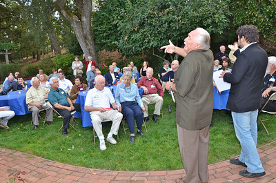 Rotary-hosted Russian Reception ~ October 1, 2011 ~ Home of Jesse & Theresa Wellen, Lafayette, CA