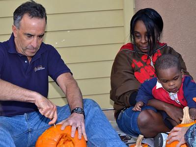 Lamorinda Sunrise Rotary Pumpkin Carving Oct. 26, 2011