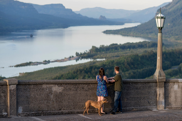 05/12/16 Columbia River Gorge Engagement Shoot