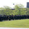 Jonathan Tressler — The News-Herald <br> The 50th Annual Lakeland Community College commencement procession proceeds to the big tent on campus May 13.