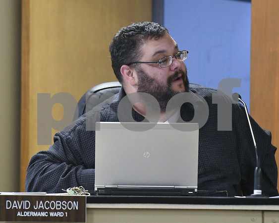 David Jacobson Aldermanic Ward 1 raises concerns about paying fees for food truck as well as where the food is paying taxes. Such as if a food truck lives in Dekalb but does business to Aurora who gets those taxes.