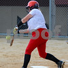 Kelsie Jordal of Indian Creek High School hits a single during regional play against Paw Paw on Monday, May 14 in Shabbona.  Steve Bittinger - For Shaw Media
