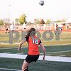 Sam Buckner for Shaw Media.<br /> Siobhan Gallagher kicks a penalty kick on Tuesday May 16, 2017 in the regional game against Wheaton Warrenville South. Dekalb won 2-1.