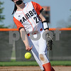 DeKalb pitcher Rylee Levine delivers against Jacobs on Thursday in DeKalb.  Steve Bittinger - For Shaw Media