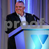 "Guest speaker Daniel ""Rudy"" Ruettiger addesses the crowd at the 2018 Y Community Awards Dinner on Thursday, May 17 in DeKalb.  Steve Bittinger - For Shaw Media"