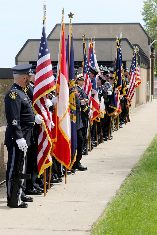 . Jonathan Tressler � The News-Herald <br> A scene from the 33rd Annual Police Memorial Commemoration in Cleveland.