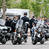 Jonathan Tressler — The News-Herald <br> A potential future member of the Northeast Ohio motorcycle-cop contingent checks out the big bikes May 19 during the 32nd Annual Greater Cleveland Peace Officers Memorial Parade and Memorial Service in Downtown Cleveland.