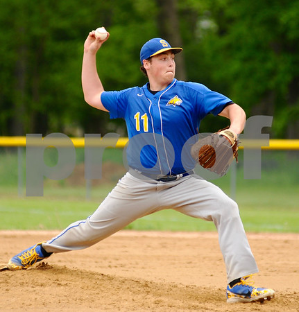 Somonauk pitcher Steven Kenyon delivers a pitch during regional action in Big Rock on Saturday, May 19.   Steve Bittinger - For Shaw Media