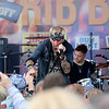 Jonathan Tressler — The News-Herald <br> Jack Russell of Great White interacts with the crowd at the sixth annual Downtown Willoughby Rib Burn Off May 20.