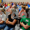 The concerns of wind turbines drew a full house at the DeKalb County Planning and Zoning Committee meeting on Wednesday, May 23 in Sycanore.  Steve Bittinger - For Shaw Media