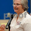 Sycamore Township resident Rita Yerkes voices her concerns during the DeKalb County Planning and Zoning Committee meeting regarding wind turbines on Wednesday, May 23.  Steve Bittinger - For Shaw Media