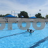 DeKalb County residents turn out for opening day Saturday at Hopkins Park Pool in DeKalb.