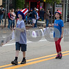 Sam Buckner for Shaw Media.<br /> Pictures of deceased soldiers are carried through the parade route bu the DeKalb Interfaith Network for Peace and Justice on Monday May 29, 2017.