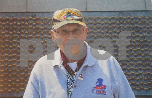 On May 10, 83-year-old Leslie Larson of Shabbona traveled to Washington, D.C., to view the Korean War Veterans Memorial on an Honor Flight. The Honor Flight Network pays tribute America's veterans by transporting them to visit and reflect at their war's memorials in the nation's capital.