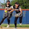 Sycamore infielder Haley Trela makes a play during sectional final action on Friday.  Steve Bittinger - For Shaw Media