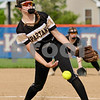 Spartan pitcher Faith Reynolds delivers during a sectional final victory for Sycamore on Friday.  Steve Bittinger - For Shaw Media