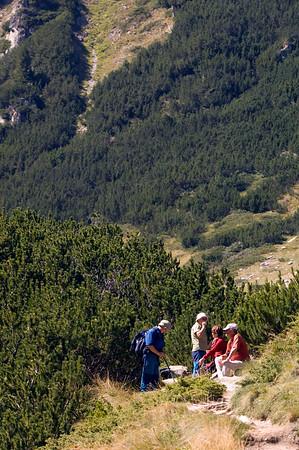 Hiking in The Pirin Mountains,Bulgaria