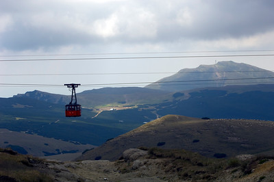 Busteni cable car, Bucegi Mountains, Romania