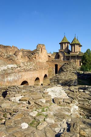 The Princely Court, Targoviste, Wallachia, Romania