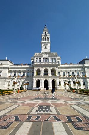 Town Hall, Arad, The Banat, Romania