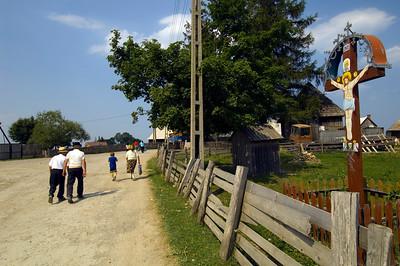 Marisel village, Apuseni Mountains, Transylvania, Romania