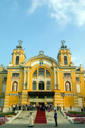 Romanian Theatre, Cluj-Napoca, Transylvania, Romania