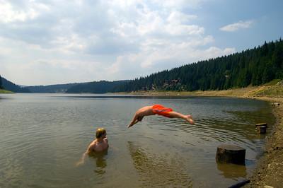 Lake Fantanelelo, Apuseni Mountains, Transylvania, Romania