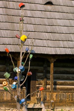 Traditional wooden architecture, Salistea de Sus, Maramures, Romania