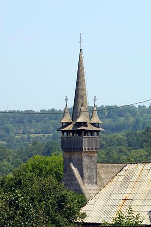 Historical wooden church, Biserica  de Lemn, Budesti, Maramures, Romania