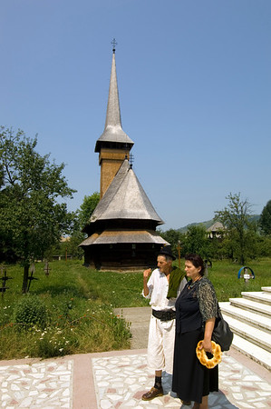 Church in Bogdan Voda, Maramures, Romania