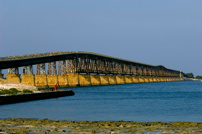 Old Bahia Honda Bridge,Florida Keys, Florida, United States of America