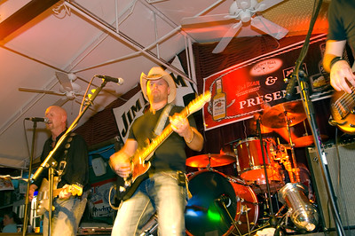 Band playing in a bar on Duval Street, Florida Keys, Florida, United States of America
