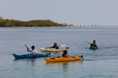 Kayaking trip, Florida Keys, Florida, United States of America