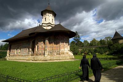 Moldovita Monastery, Southern Bucovina, Moldavia, Romania