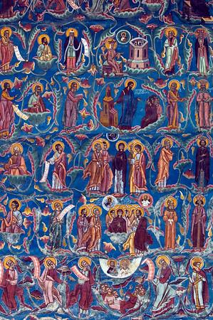 Moldovita Monastery, Bucovina, Moldavia, Romania
