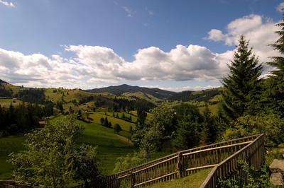 Ryral landscape, Southern Bucovina, Moldavia, Romania