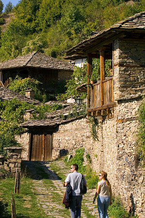 Leshten village, Rhodope Mountains, Bulgaria