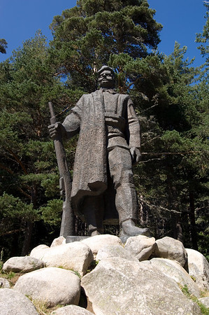Statue of Gotse Delchev, Gotse Delchev, The Pirin Mountains, Bulgaria