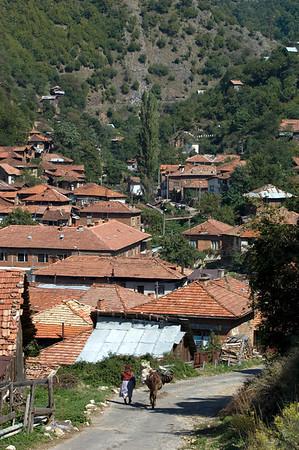Remote village of Pirin, The Pirin Mountains, Bulgaria