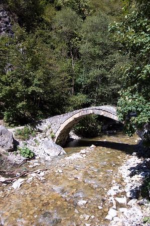 Roman Bridge over the River Trigradska, The Rhodope Mountains, Bulgaria